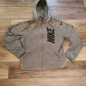 Nike grey pullover sweater